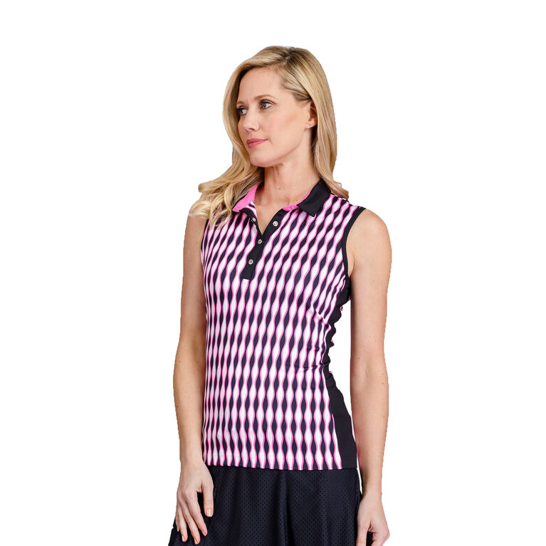 Tail Katelynn Top - Wave Stripe Print