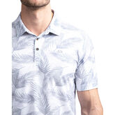 Alternate View 3 of Saucey Short Sleeve Leaf Print Polo