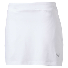 Girls Solid Knit Golf Skirt