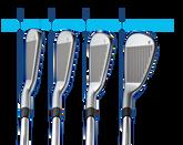 PING i Irons 4-PW Blue Dot - w/XP 95 Shafts
