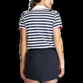 Alternate View 3 of Short Sleeve Striped Piqué Golf Polo
