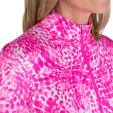 Alternate View 7 of Rojito Collection: Mosaic Print Quarter Zip Pull Over