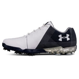 Under Armour Spieth 2 Men's Golf Shoe - White/Blue