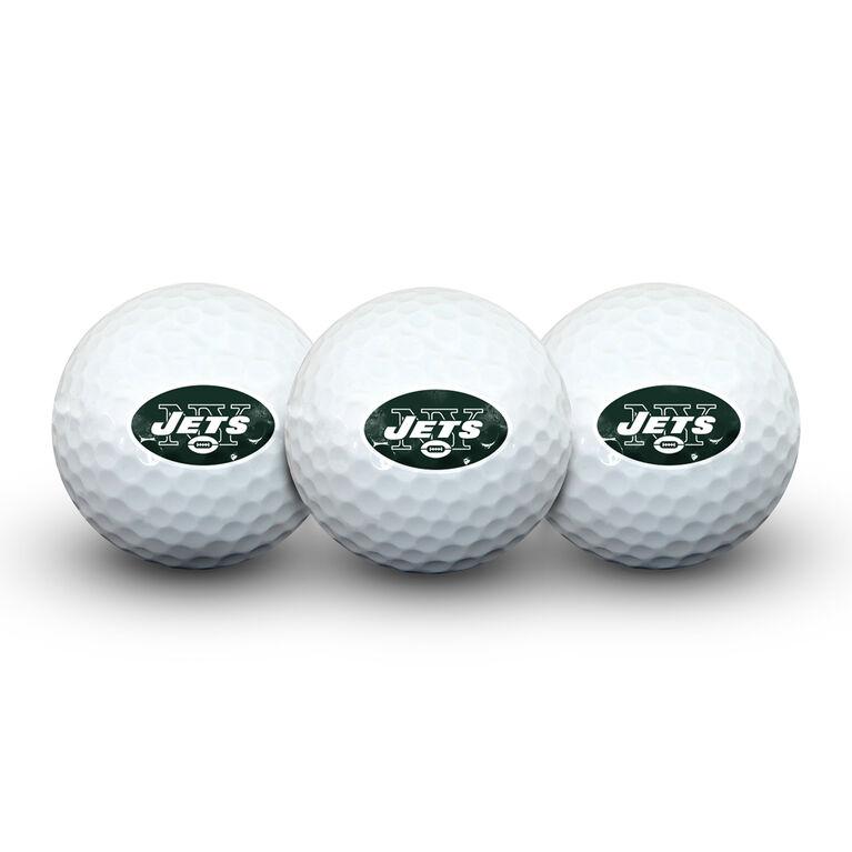 Team Effort New York Jets Golf Ball 3 Pack