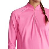 Alternate View 2 of Powerstretch Jersey Quarter Zip Pull Over