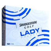 Bridgestone Lady White Precept Golf Balls - Personalized