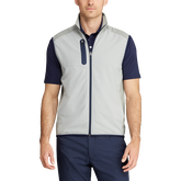 Stretch-Panel Golf Vest