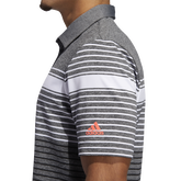 Alternate View 4 of Ultimate365 Engineered Heathered Polo Shirt