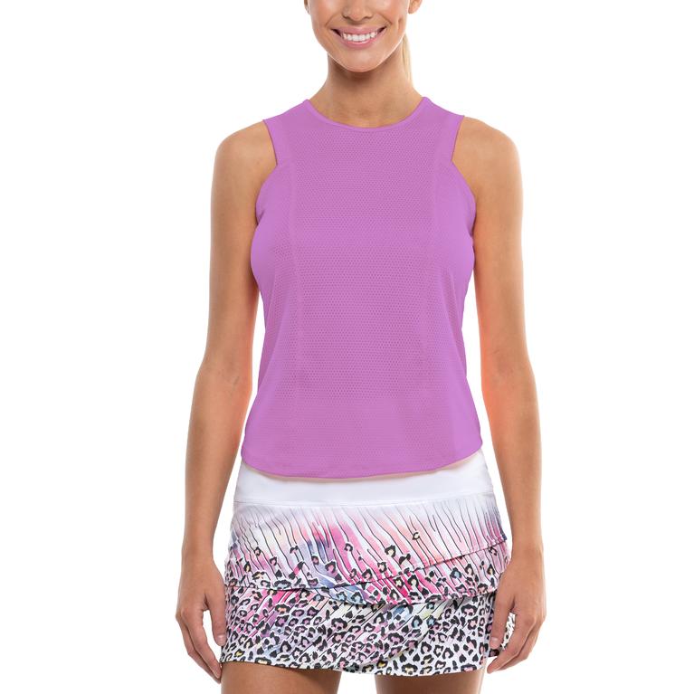 Safari Scalloped Tennis Skirt