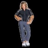 Gracelyn Elbow Sleeve Full Zip Top