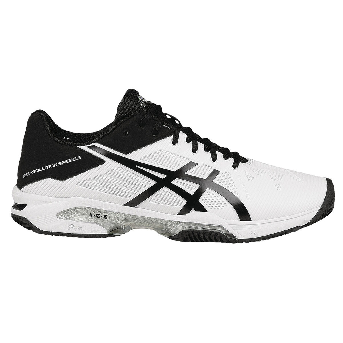 pretty nice 1c7cb eb382 Images. Asics GEL-Solution Speed 3 Clay Men  39 s Tennis Shoe - White