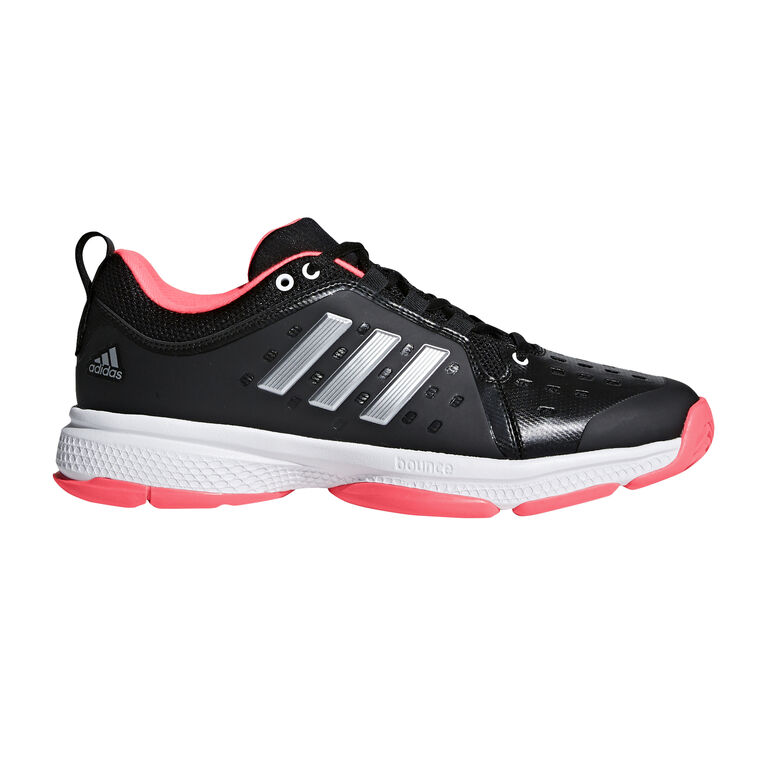 996a4b1d759d77 adidas Barricade Classic Bounce Men s Tennis Shoe - Black Red White ...