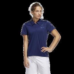 USA Star Women's Short Sleeve Polo