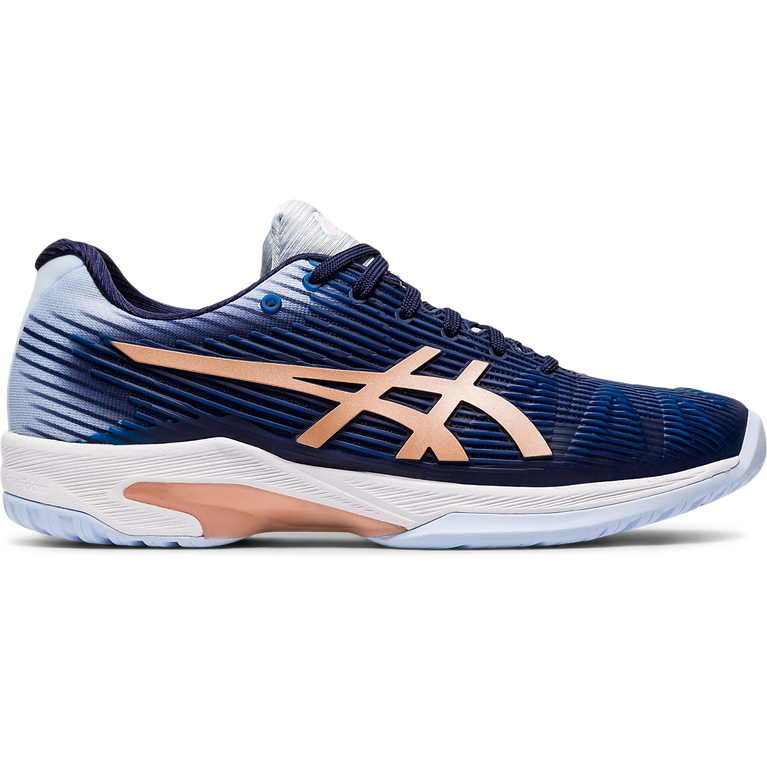Solution Speed FF Women's Tennis Shoes - Navy/Blue