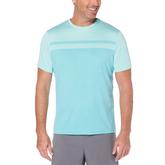 Body Map Print Crew Neck Men's Tee Shirt
