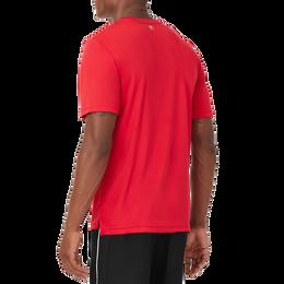 Dot Print Short Sleeve Men's Tee Shirt