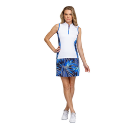 Palm Springs Collection: Rosabella Sleeveless Zip Top Shirt