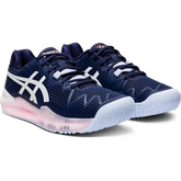 Alternate View 2 of GEL RESOLUTION 8 Women's Tennis Shoes - Navy/White
