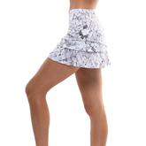 Alternate View 2 of Geo Scalloped Tennis Skirt