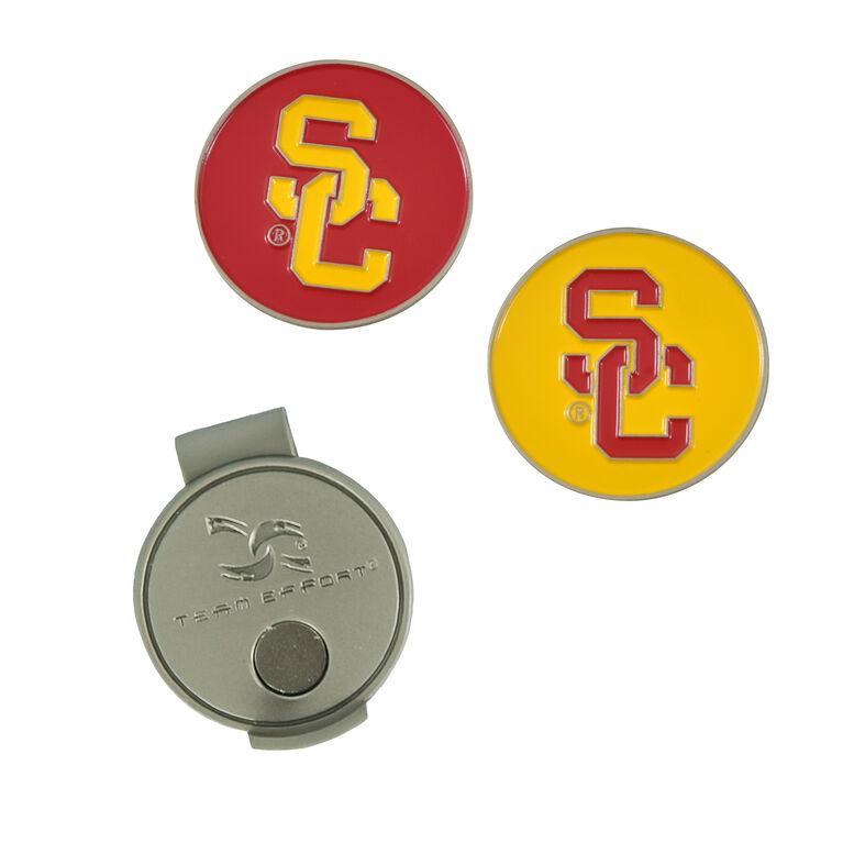 Team Effort USC Trojans  Hat Clip