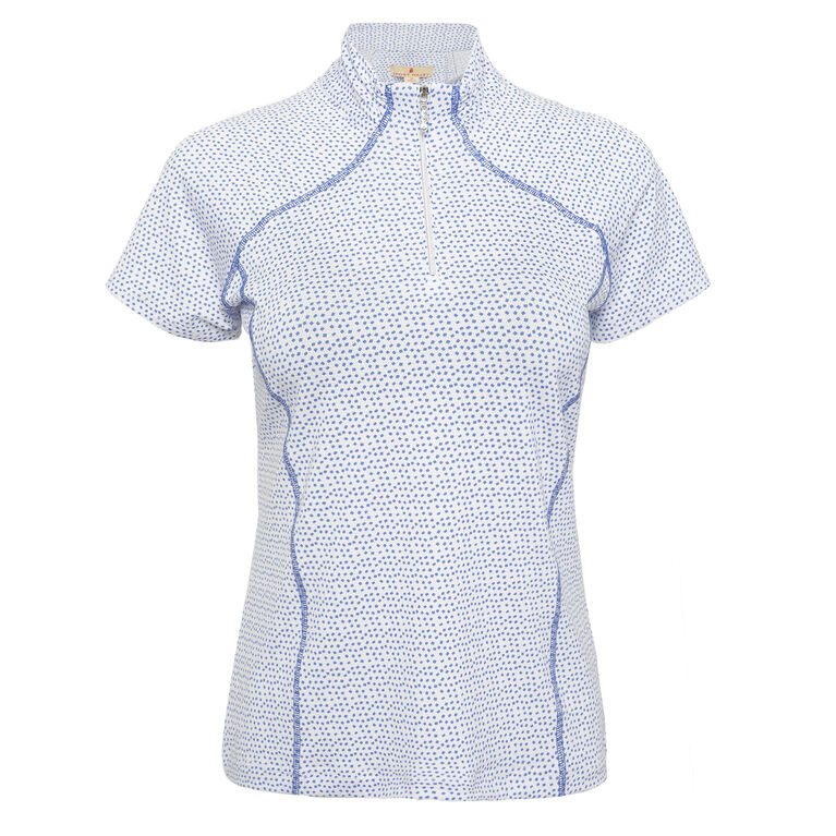 Off The Charts: Gwen Short Sleeve Polo