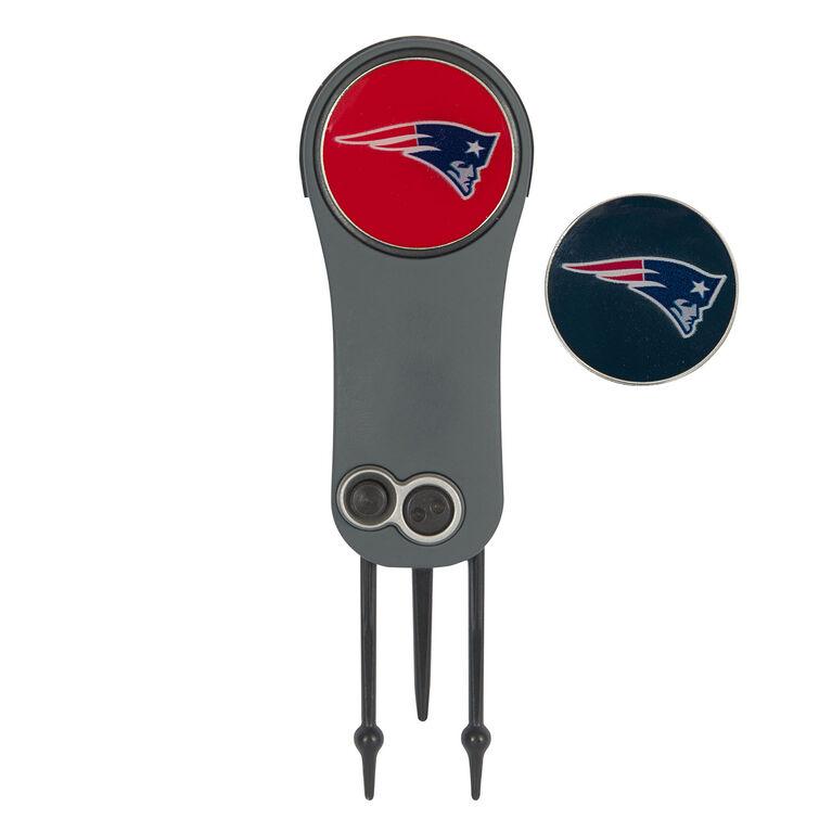 Team Effort New England Patriots Switchblade Repair Tool