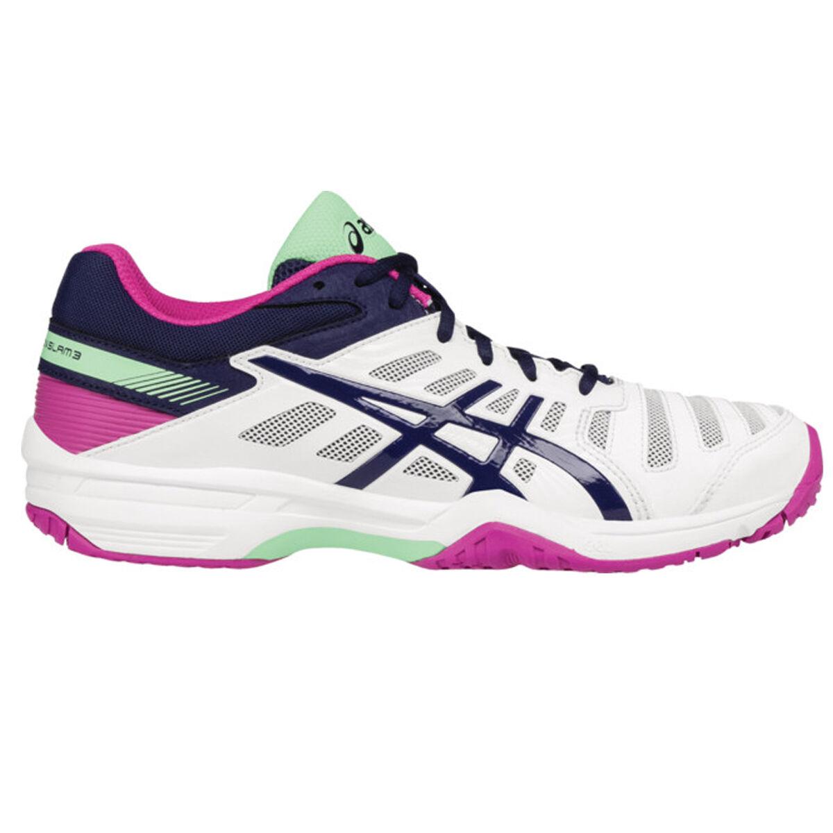 super popular 4b2eb 4d3e3 Images. Asics GEL-Solution Slam 3 Women  39 s Tennis Shoe - White
