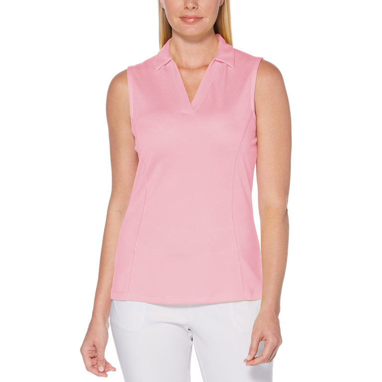 Sleeveless Airflux Golf Polo Shirt
