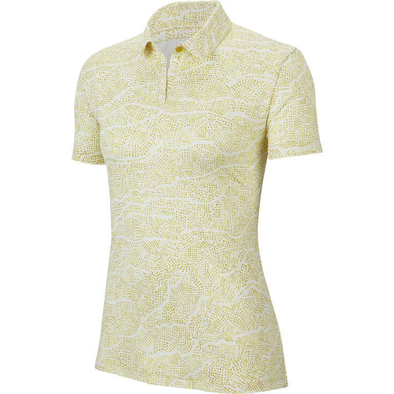 Dri-Fit Short Sleeve Printed Golf Polo