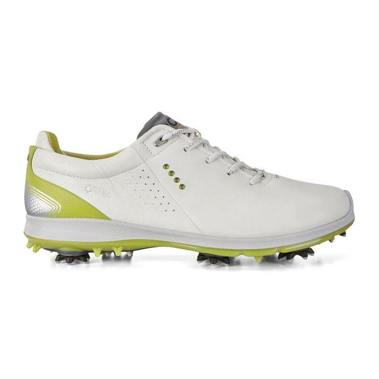 ECCO BIOM G 2 Free GTX Men's Golf Shoe -  White/Lime