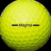 Alternate View 1 of Magma Yellow Golf Balls