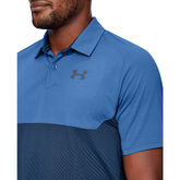 Alternate View 3 of Vanish Blocked Golf Polo Shirt