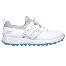 GO GOLF Max Lag Women's Golf Shoe - White/Grey