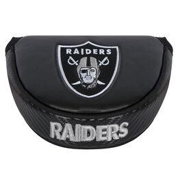 Team Effort Oakland Raiders Black Mallet Putter Cover
