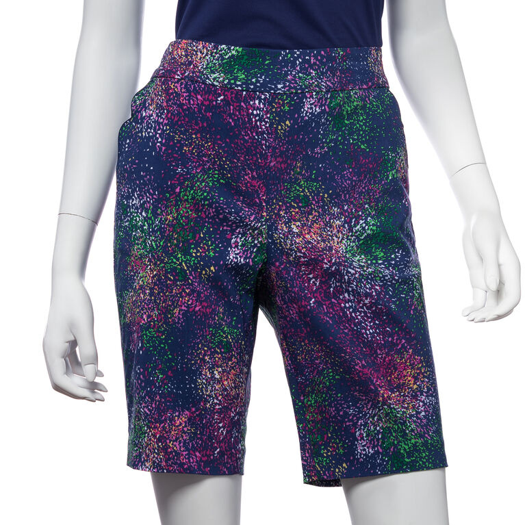 Treasure Island Group: Starburst Print Compression Short