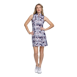 Skyline Collection: Sandra Floral Spring Sleeveless Dress