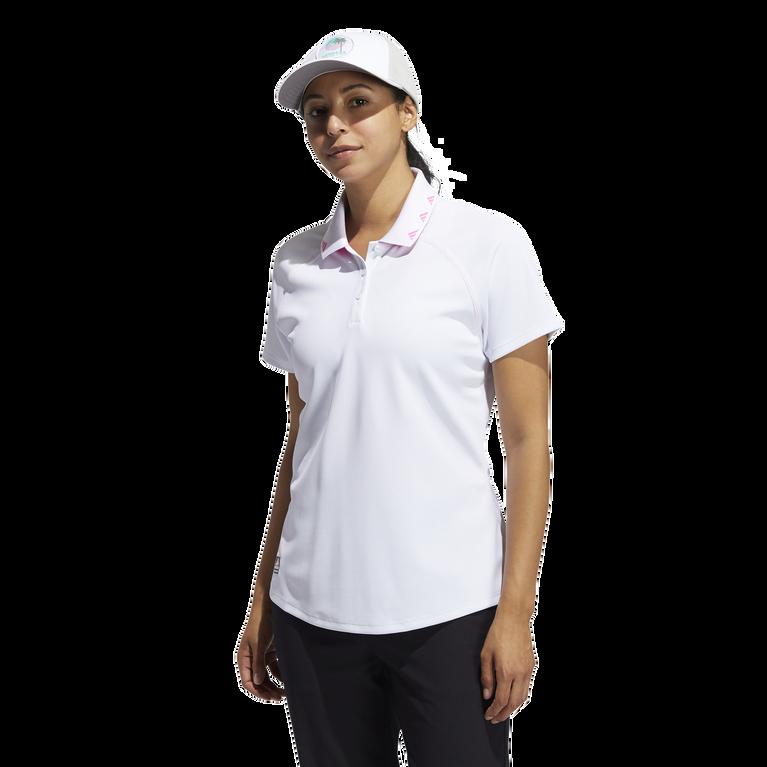 Primegreen  Short Sleeve Print Collar Polo Shirt