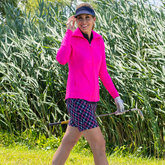 """Rojito Collection: Playoff Plaid 7.5"""" Golf Short"""