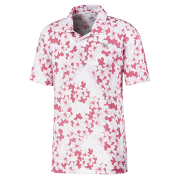 Thirteen Floral Golf Polo