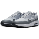 Alternate View 5 of Air Max 1 G Men's Golf Shoe - White/Grey