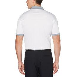 Asymmetric Multi-Color Stripe Short Sleeve Golf Polo Shirt