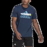 Alternate View 2 of Men's Graphic Logo Tennis Tee Shirt