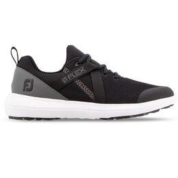FJ Flex Women's Golf Shoe - Black/Charcoal