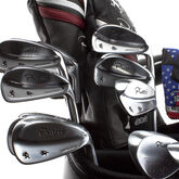 Alternate View 6 of Forged 3-PW Combo Iron Set w/ KBS Steel Shafts