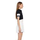 Alternate View 3 of Natasha Short Sleeved Colorblock Polo Shirt