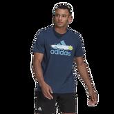 Alternate View 1 of Men's Graphic Logo Tennis Tee Shirt
