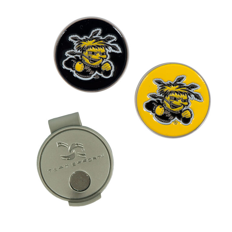 Team Effort Wichita State Hat Clip