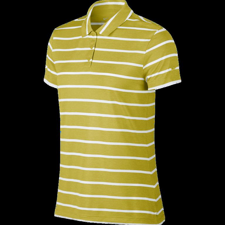 Dri-Fit Short Sleeve Striped Golf Polo