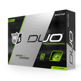DUO Professional Matte Green Golf Balls - Personalized