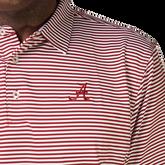 Alternate View 1 of Alabama Crimson Tide Stripe Polo
